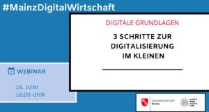 3 Schritte zur Digitalisierung im Kleinen