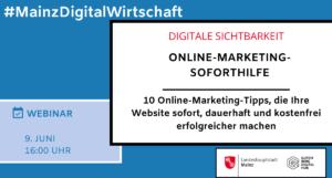 Online-Marketing-Soforthilfe