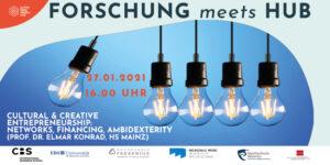 """""""Forschung meets Hub"""""""