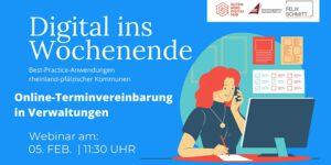 Online-Terminvereinbarungen in Verwaltungen