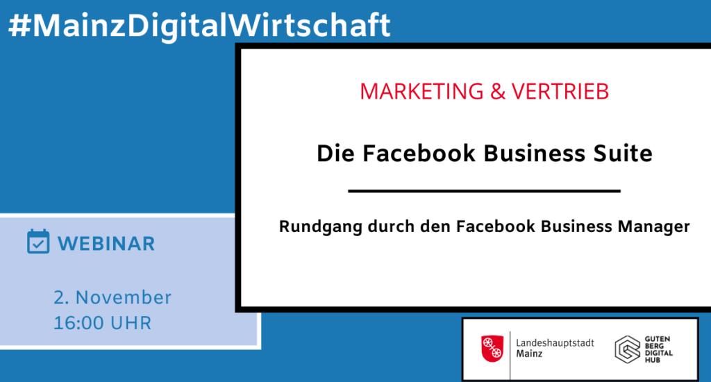 Die Facebook Business Suite